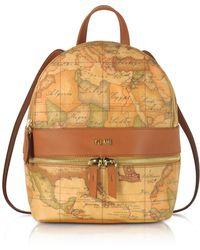Alviero Martini 1A Classe - Geo Classic Coated Canvas Backpack - Lyst