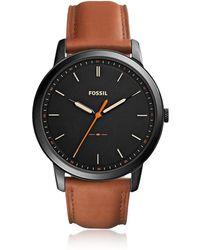 Fossil - Fs5305 The Minimalist 3h Men's Watch - Lyst