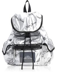 Marc Jacobs - The Ripstop Ny Mag Silver Nylon Backpack - Lyst