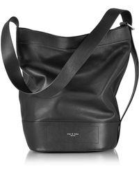 Rag & Bone - Black Leather Walker Sling Bucket Bag - Lyst