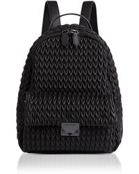 Emporio Armani - Quilted Eco-leather Backpack - Lyst