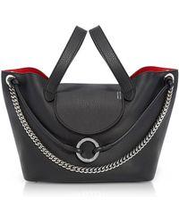 meli melo - Black Linked Thela Medium Tote Bag - Lyst