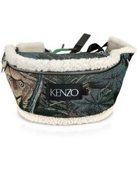 KENZO - Tapestry Jacquard Bumbag - Lyst