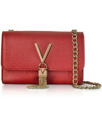 Valentino By Mario Valentino - Eco Grained Leather Marilyn Mini Shoulder Bag - Lyst