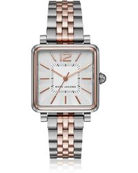 Marc Jacobs - Vic Two Tone Women's Watch - Lyst