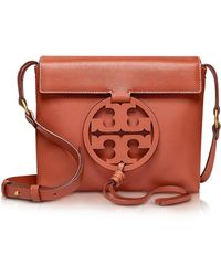 94770755b475 Tory Burch - Genuine Leather Miller Cross-body Bag - Lyst