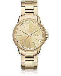 Armani Exchange - Ax4346 Lady Banks Women's Watch - Lyst
