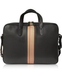 Paul Smith - Men's Black Leather Briefcase - Lyst
