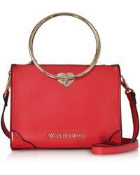 eb54252ee7d3 Valentino By Mario Valentino - Eco Leather Aladdin Small Tote Bag W  detachable Shoulder Strap