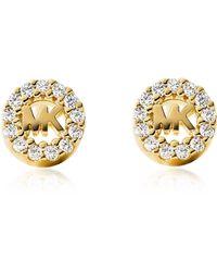 Michael Kors - Mkc1033an710 Stud Earrings Women's Earring - Lyst