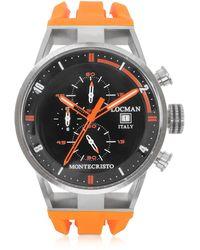LOCMAN - Montecristo Stainless Steel And Titanium Case Men's Watch - Lyst