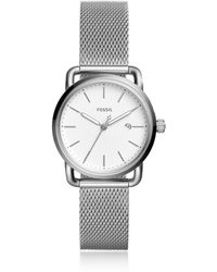 Fossil - The Commuter Three Hand Date Women's Watch - Lyst