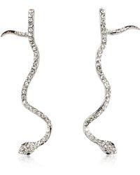 FEDERICA TOSI - Long Snake Earrings - Lyst