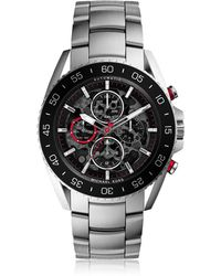 Michael Kors - Jetmaster Silver Tone Stainless Steel Men's Chrono Watch - Lyst