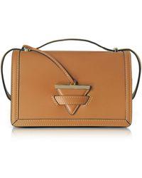 Le Parmentier - Diodora Shoulder Bag W/golden Triangle Charm - Lyst