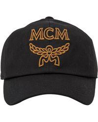 Hot MCM - Signature Cotton Baseball Cap - Lyst f4b31b6ce69