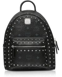 MCM - Studded Outline Visetos Stark Backpack - Lyst
