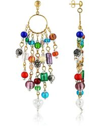 Antica Murrina | Brio - Murano Glass Bead Chandelier Earrings | Lyst