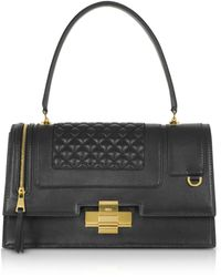 N°21 - Black Quilted Leather Alice Bag - Lyst