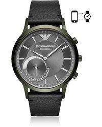 Emporio Armani - Connected Men's Hybrid Smartwatch - Lyst