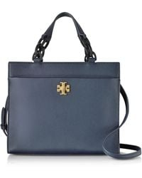 Tory Burch - Kira Leather Small Tote Bag - Lyst