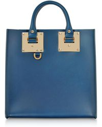 Sophie Hulme - Blue Canard Albion Square Tote - Lyst