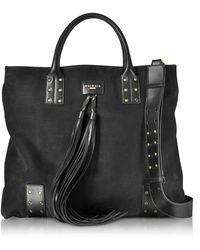 Balmain - Domaine Nubuck Men's Shopping Bag - Lyst