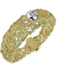 Orlando Orlandini | Arianna - 18k Gold Ring W/ Round Diamond | Lyst