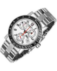 Raymond Weil - W1 - White Stainless Steel Chronograph Watch W/ Tachymetre - Lyst