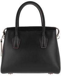 Tod's - Shopper Leather Black - Lyst