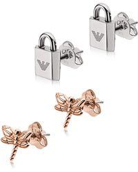 Emporio Armani - Egs2576221 - Women's Earring - Lyst