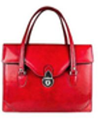 L.A.P.A. - Women's Red Leather Briefcase - Lyst