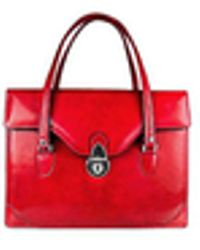 L.A.P.A. | Women's Red Leather Briefcase | Lyst