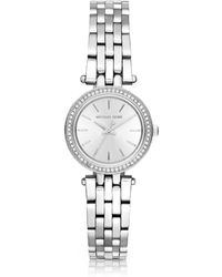 Michael Kors - Petite Darci Stainless Steel Women's Watch - Lyst