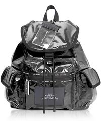 Marc Jacobs - The Ripstop Black Nylon Backpack - Lyst