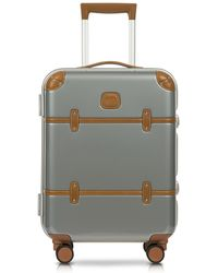 Bric's - Bellagio Metallo V2.0 21'' Silver Carry-on Spinner Trunk - Lyst