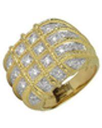 Torrini - Wallstreet - 18k Yellow Gold Diamond Ring - Lyst