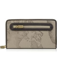 Alviero Martini 1A Classe - Geo Print Zip Around Wallet - Lyst