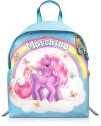 Moschino - Blue My Little Pony Backpack - Lyst