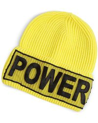 Versace - Power Embroidered Beanie Hat - Lyst