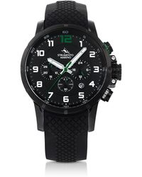 Strumento Marino - Summertime Black Stainless Steel Men's Chronograph Watch - Lyst