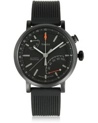 b420f0debfed Timex - Metropolitan Reloj para Hombre Negro con Correa Intercambiable -  Lyst