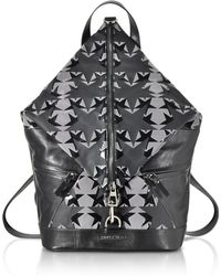 Jimmy Choo - Fitzroy Gny Graphic Stars Print Fabric Backpack - Lyst