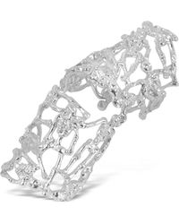 Bernard Delettrez - Skeletons Silver Metal Articulated Ring - Lyst