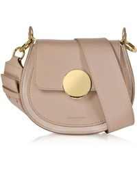 Le Parmentier - Yucca Suede And Leather Shoulder Bag - Lyst