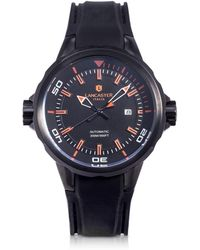Lancaster - Space Shuttle Automatic Stainless Steel And Silicon Men's Watch - Lyst