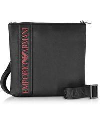 Emporio Armani - Signature Squared Men's Corssbody Bag - Lyst