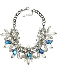 Anabela Chan - Crystal Bloom Necklace - Lyst