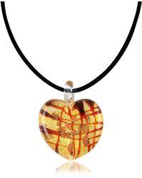 Antica Murrina - Passione - Murano Glass Heart Pendant - Lyst