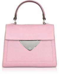 Coccinelle - B14 Mini Leather Satchel Bag - Lyst